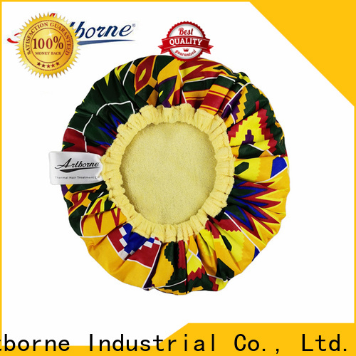 Artborne bonnet thermal conditioning heat cap suppliers for hair