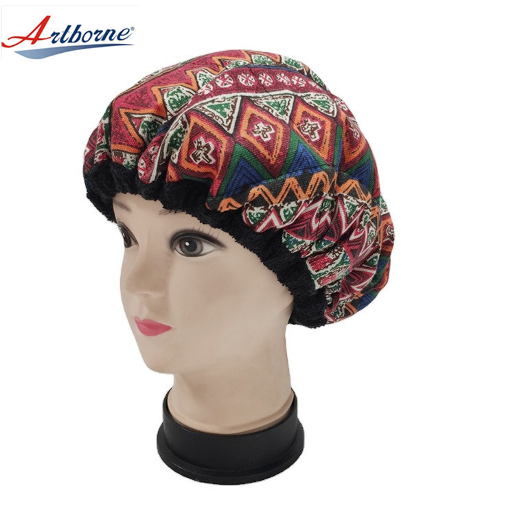 Deep Conditioning Hair Steamer Cap Hot and Cold Therapy Flaxseed Interior for Steaming Hair Styling and Treatment Steam Cap