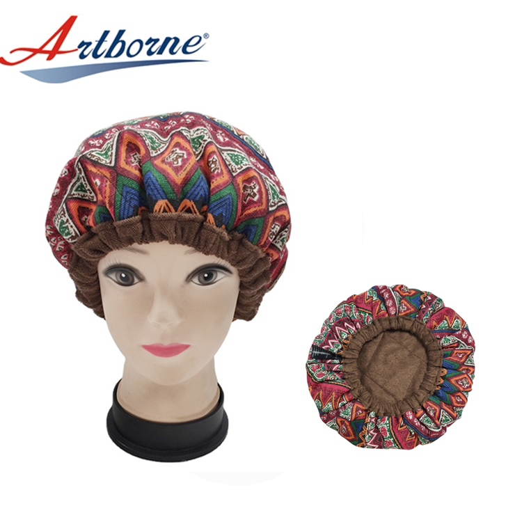 Hair Heat Cap Microwavable Heat Cap for Steaming Hair Styling and Treatment Steam Cap Steaming Haircare Therapy