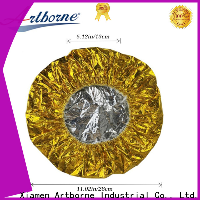 Artborne thermal conditioning bonnet manufacturers for shower