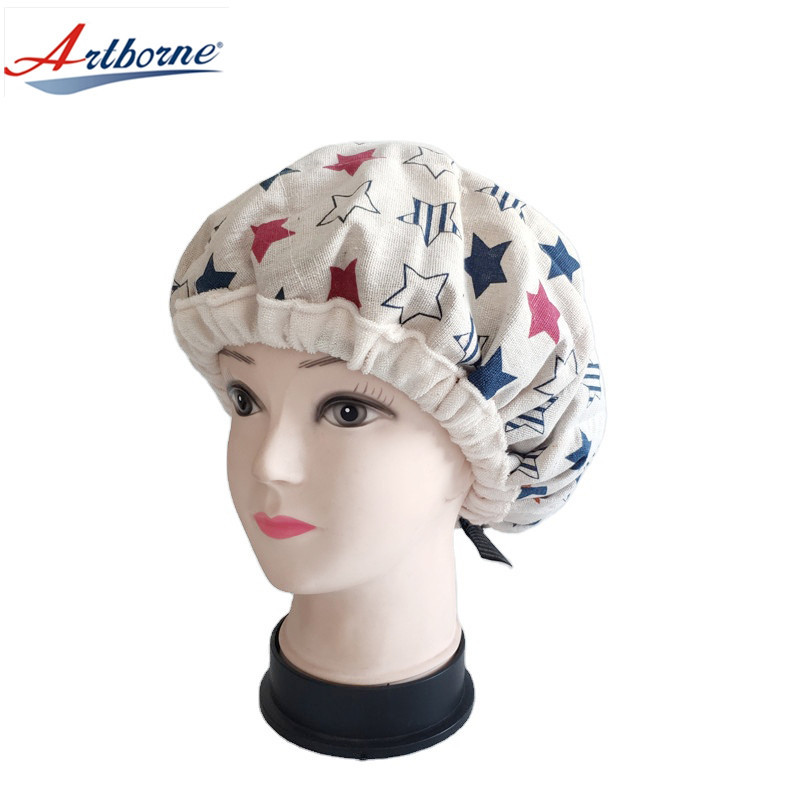 Deep Conditioning Thermal Heat Cap - Cordless Microwavable Heat Cap for Steaming Heat Therapy Hot Cold Pad Hair Care Cap Clay Bead