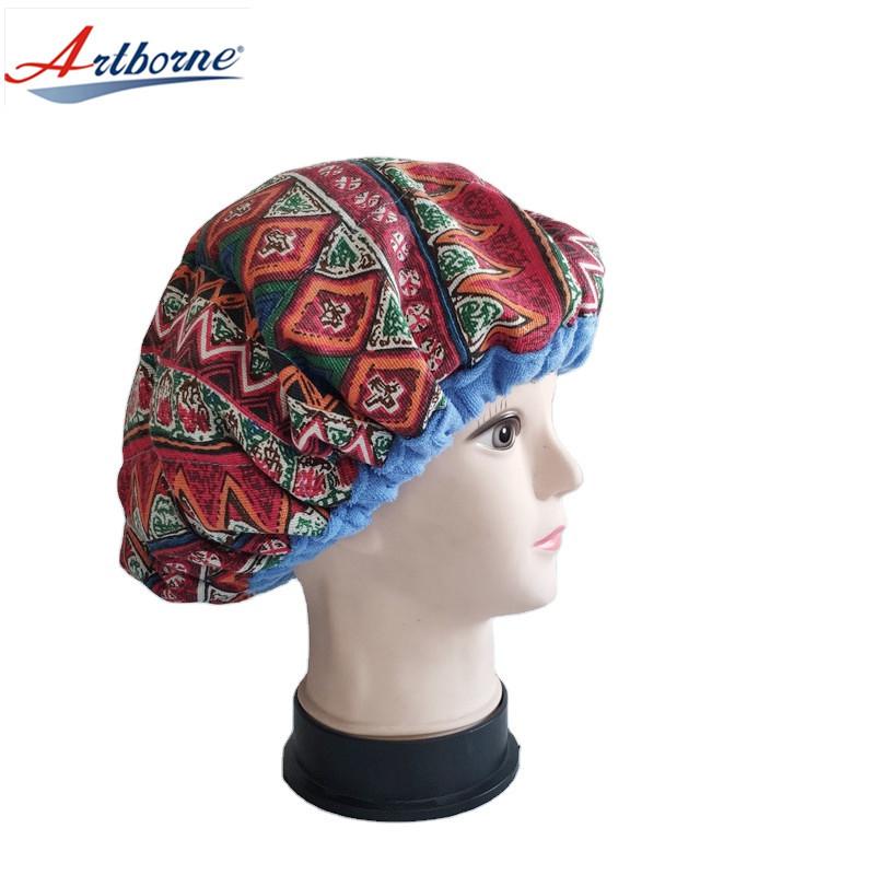 Heat cap for deep conditioning heat cap heating cap for deep conditioner for natural hair, steaming microwavable cap, flaxseed Interior for maximum heat retention