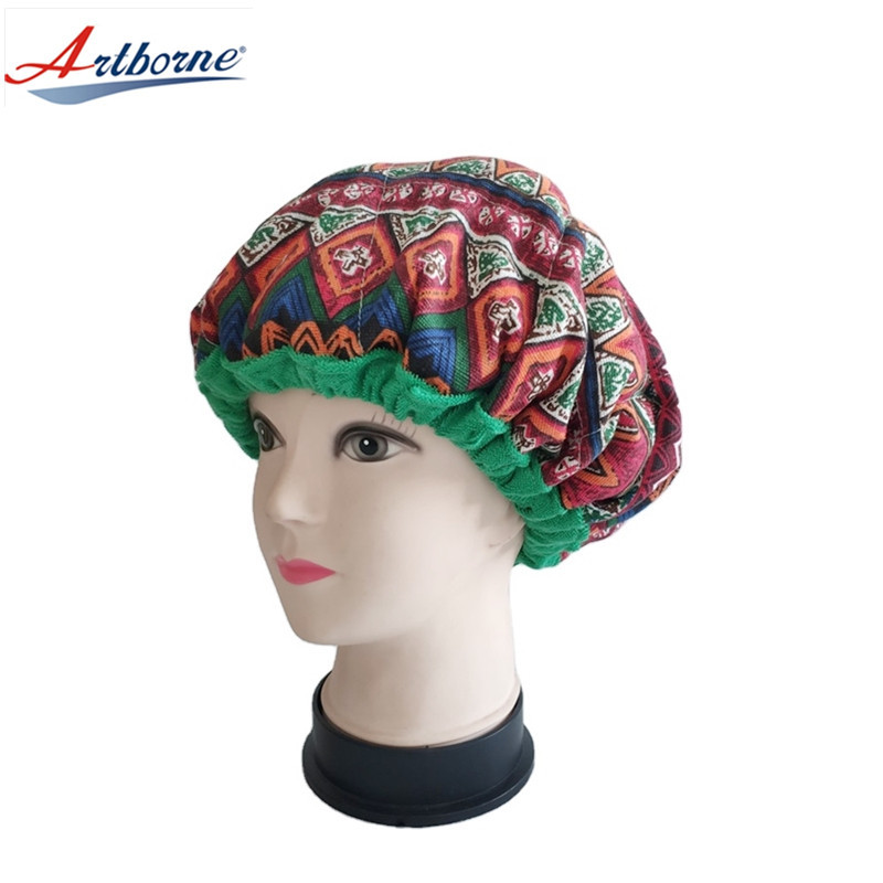 Reusable thermal hair care cap microwavable deep conditioning heat cap hot cold pad heating cap
