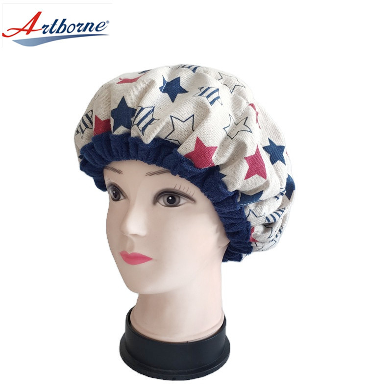 Cordless Deep Conditioning Heat Cap Hair Care Cap Microwavable Heat Cap For Deep Conditioning Hair Therapy, Flax seed Interior For Maximum Heat Retention Thermal Hair Treatment Cap