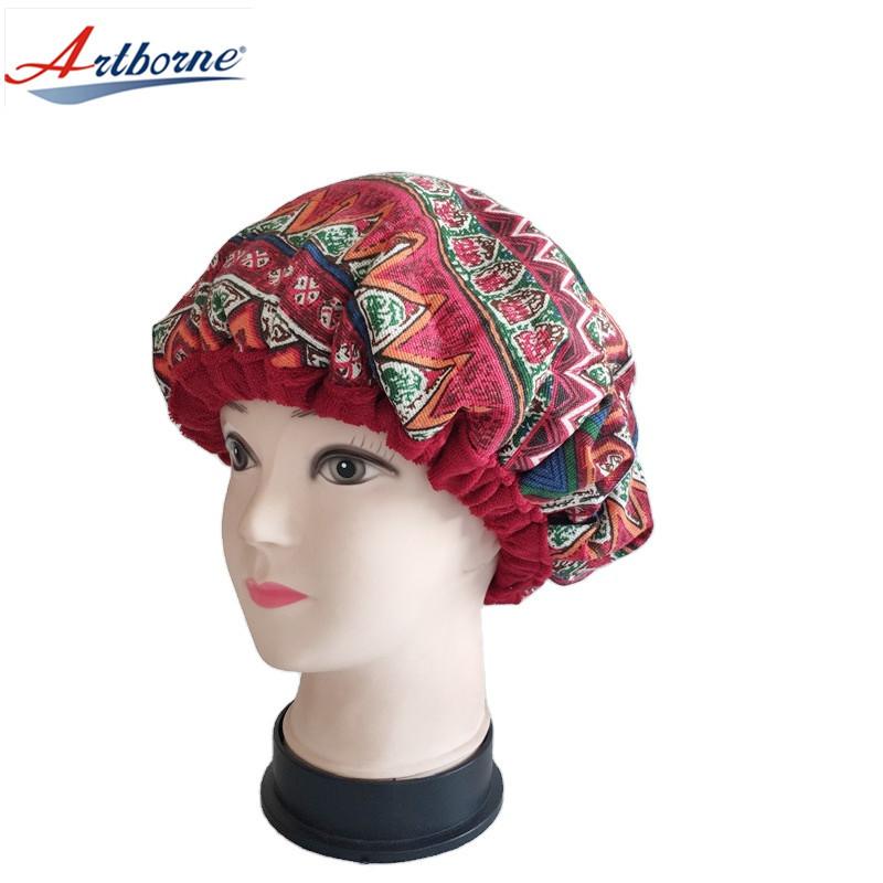 Heat cap for deep conditioning heat cap – heating cap for deep conditioner for natural hair steaming microwavable cap flaxseed Interior for maximum heat retention