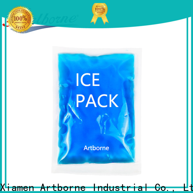 Artborne plastic ice pack for migraine suppliers for muscle strain