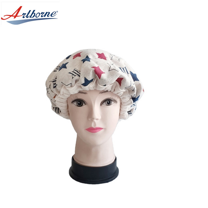 Home Use Care Deep Conditioning Heat Cap Hair Treatment Steam Cap Heat Therapy and Thermal Spa Hair Steamer Clay Bead Hair Cap