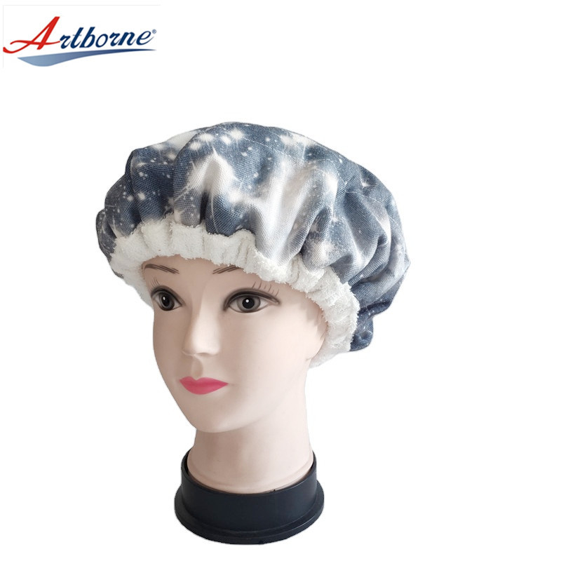 home Use Care Hair Steamer Cap Hot and Cold Therapy Flaxseed or Clay Bead Interior for Steaming Hair Styling and Treatment Steam Cap