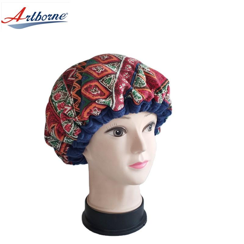 Deep Conditioning Hair Heat Cap Styling Treatment Steam Heat Therapy Thermal Spa Hair Steamer Clay Bead Hair Cap Bonnet Cap