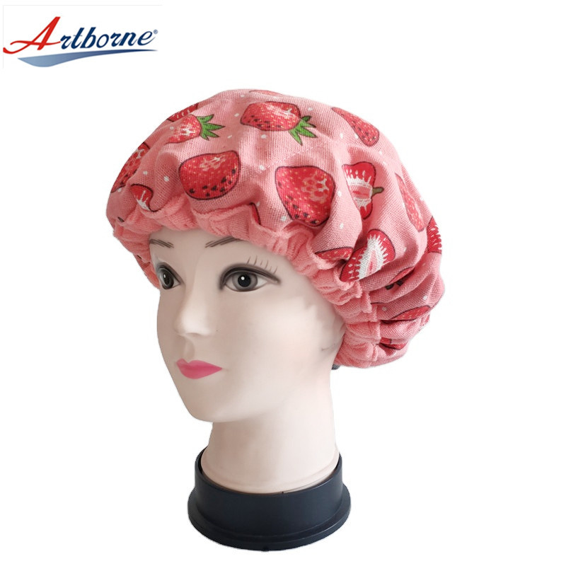 Home Use Care Hair Steamer Cap Gel Cap Hot and Cold Therapy Clay Bead Interior for Steaming Hair Styling and Treatment Steam Cap