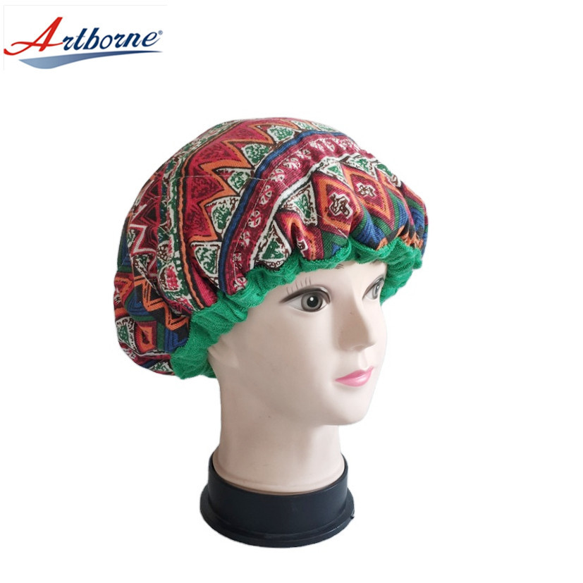 Clay Bead Gel Faxseed Microwave Heat hot Therapy deep Conditioning Thermal salon steam Hair care treatment Mask hat bonnet Cap