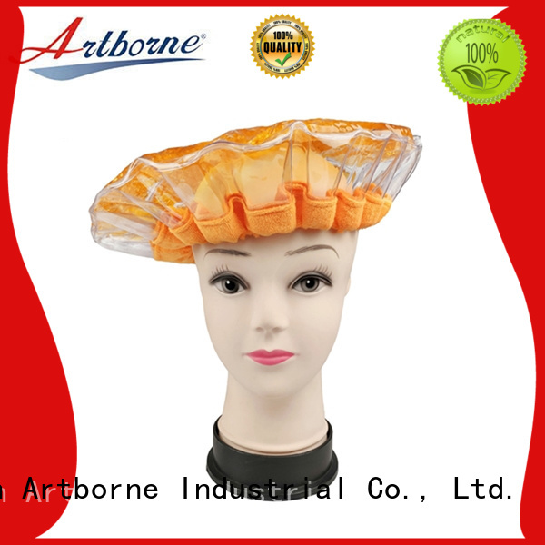 Artborne bead microwave cap for business for hair
