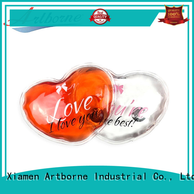 Artborne lip heat pad microwave supply for gloves
