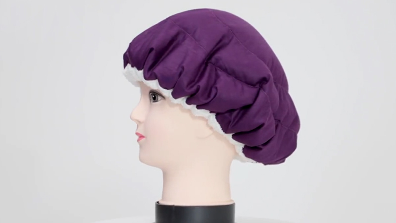 Thermal conditioning flaxseed cap