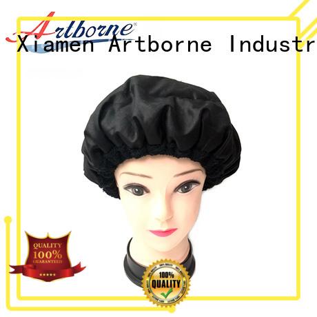 Artborne latest microwavable heat cap company for hair