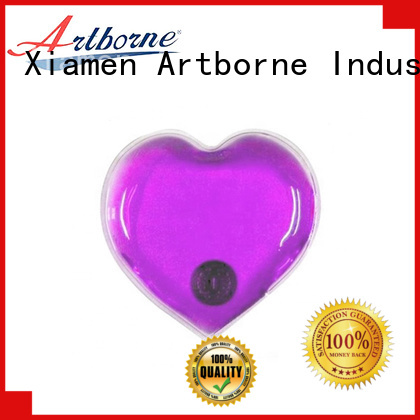Artborne high-quality soft hot cold pack factory for back